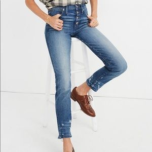 Madewell Slim Straight Jeans size 28